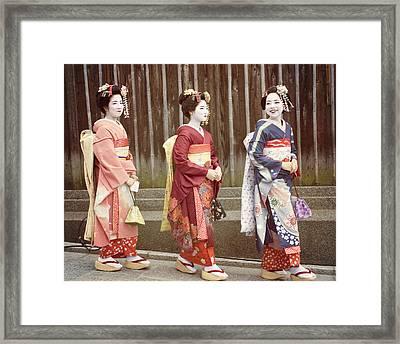 Pretty Girls Framed Print