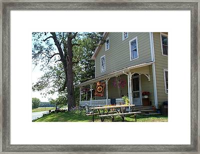 Framed Print featuring the photograph Pretty In Pennsylvania by Barbara McDevitt