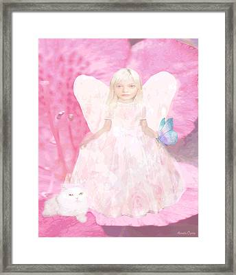 Pretty In Pink Framed Print by Amelia Carrie