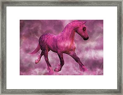 Pretty In Pink Framed Print by Betsy Knapp