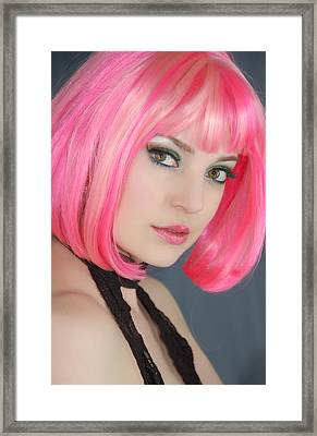 Framed Print featuring the photograph Pretty In Pink by Jim Poulos