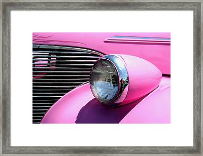 Pretty In Pink Framed Print by Joe Kozlowski