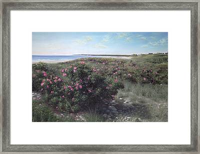Pretty In Pink Framed Print by Julia O'Malley-Keyes