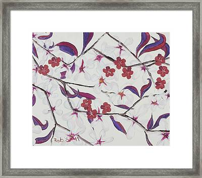 Pretty In Pink Framed Print by Rob Sherwood