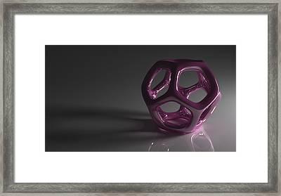 Pretty In Purple Framed Print by Troy Harris