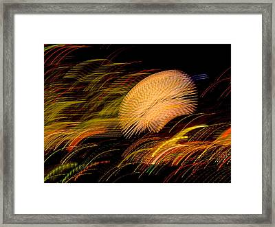 Framed Print featuring the photograph Pretty Little Cosmo - 10 by Larry Knipfing