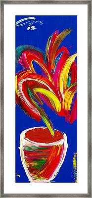 Pretty Little Flower-edition 6 Framed Print by Mac Worthington