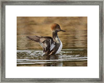 Pretty Little Redhead Framed Print