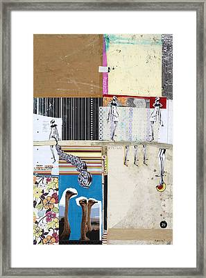 Pretty Little Things Framed Print by Michel Keck