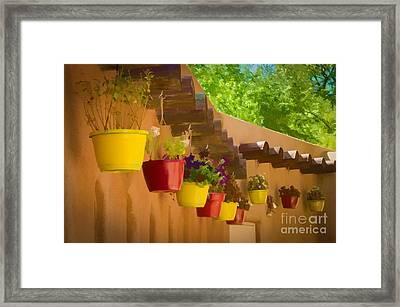 Pretty Pots - Watercolor Framed Print