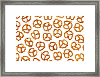 Pretzels Framed Print