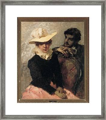 Previati Gaetano, Aurora The Painter Framed Print by Everett