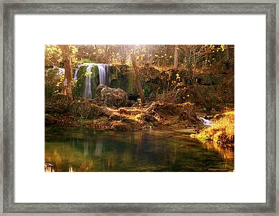 Framed Print featuring the photograph Price Falls 1 Of 5 by Jason Politte