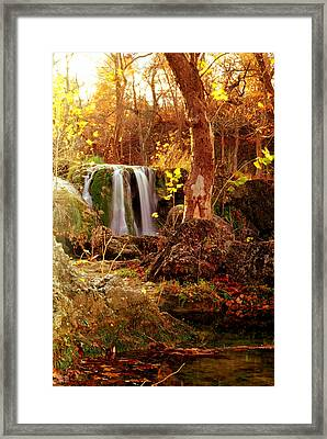 Framed Print featuring the photograph Price Falls 2 Of 5 by Jason Politte