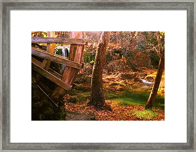 Framed Print featuring the photograph Price Falls 3 Of 5 by Jason Politte