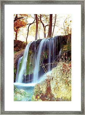 Framed Print featuring the photograph Price Falls 5 Of 5 by Jason Politte