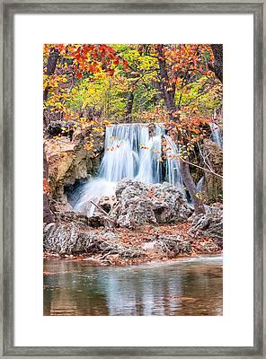 Price's Falls Framed Print