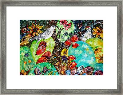 Prickly Pear Cactus Study I Framed Print