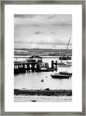 Priddy's Hard Boats Framed Print by Terri Waters