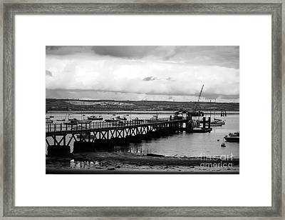 Priddy's Hard Jetty Framed Print by Terri Waters