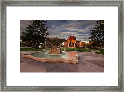 Pride Of The City Framed Print