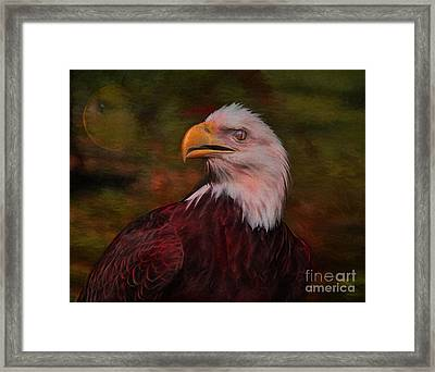 Pride Strength And Courage Framed Print