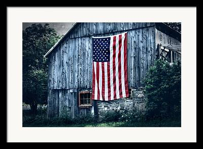 Small Town Usa Framed Prints