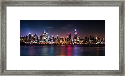 Pride Weekend Panorama Framed Print