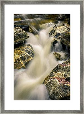 Priest Creek Framed Print