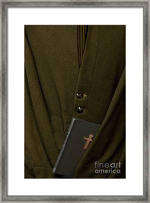 Priest Framed Print by Margie Hurwich