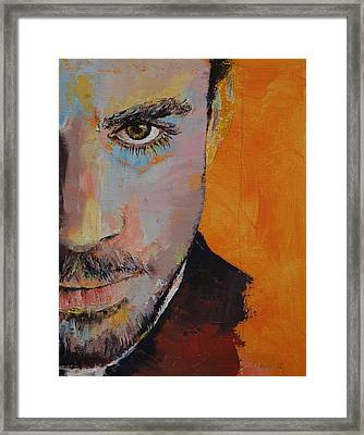 Priest Framed Print by Michael Creese