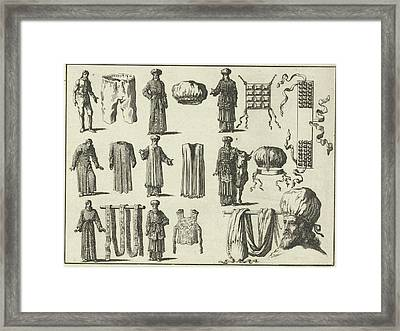 Priestly Vestments, In Order Of Fairing Variant B Framed Print by Quint Lox
