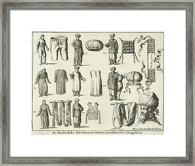 Priestly Vestments, In Order Of Fairing Variant Framed Print by Quint Lox