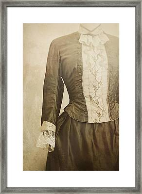 Prim And Proper Framed Print by Amy Weiss