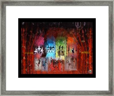 Framed Print featuring the digital art Prima Ballerina by Kelly McManus