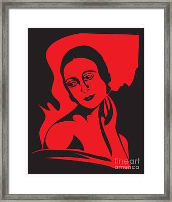 Prima Ballerina Framed Print by Igor Kislev
