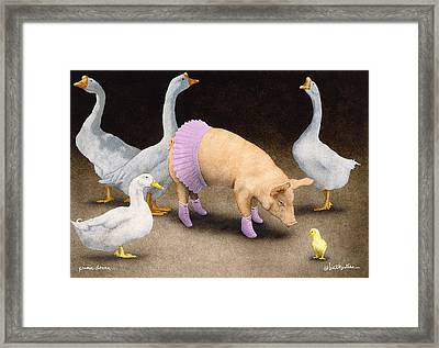 Prima Donna... Framed Print by Will Bullas