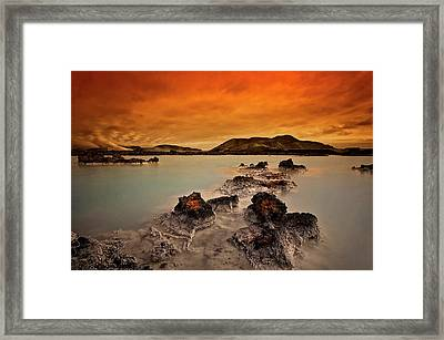 Primal Elements Framed Print by ?orsteinn H. Ingibergsson