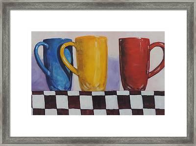 Primarily Coffee Framed Print