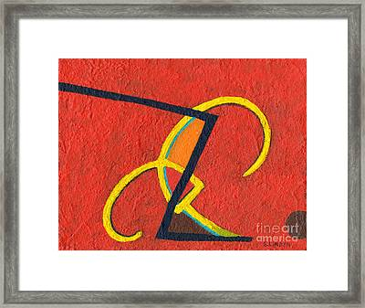 Primarily Primary Framed Print