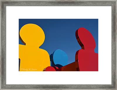 Primary Colors 2 Framed Print by Wendy Hansen-Penman