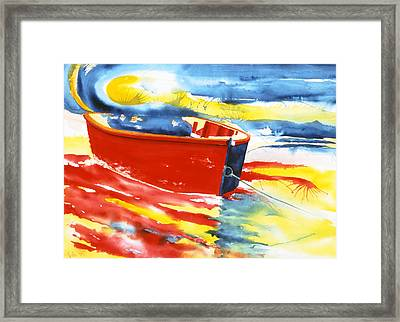 Primary Colors Framed Print by Lorraine LaVista