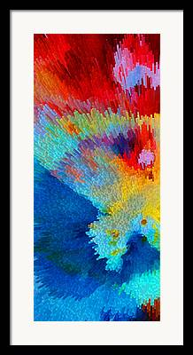 Energetic Abstract Framed Prints