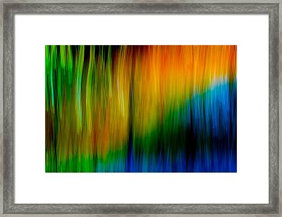 Framed Print featuring the photograph Primary Rainbow by Darryl Dalton