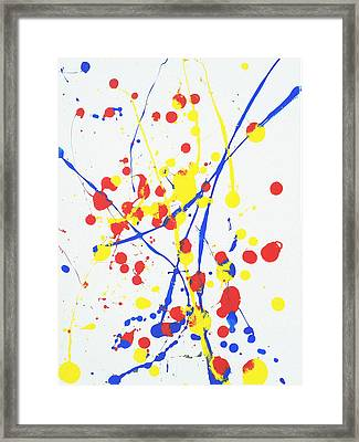 Primary Thoughts Framed Print