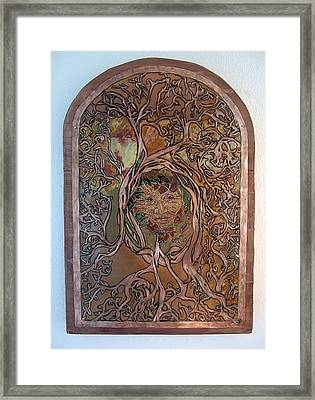Primeval Forest Mother Framed Print