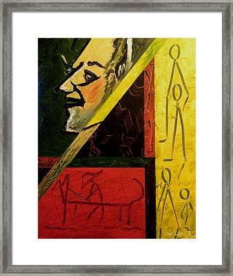 Primitive Art Framed Print