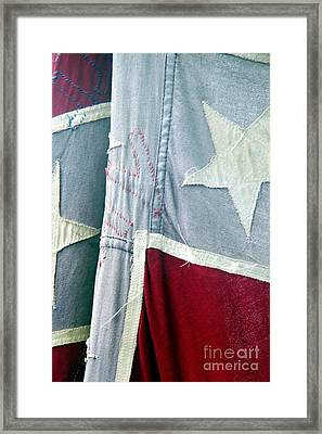 Primitive Flag Framed Print