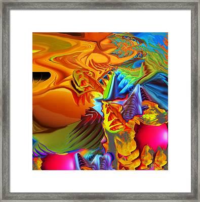 Primordial Goo Framed Print