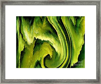 Primordial Framed Print by Patricia Kay